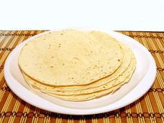 A recipe for Fat Free Tortillas made with all-purpose flour, baking soda, salt