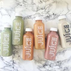 stay healthy it's national green juice day! start off the weekend on a healthy note with a bottle of juice. For see more of fitness life images visit us on our website ! Yummy Drinks, Healthy Drinks, Healthy Recipes, Detox Drinks, Candy Drinks, Healthy Food, Milk Shakes, Jugo Natural, Good Food