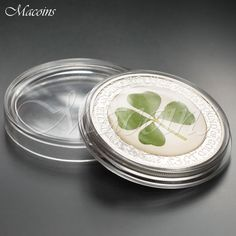 2015 OUNCE OF LUCK 5$ Palau 0 Oz. Silver Proof Coin with a Four Leaf Clover