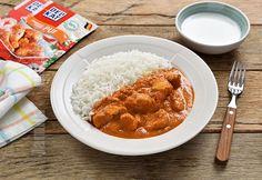 Butter chicken / Pui in stil indian - reteta video Butter Chicken, Curry, Indian, Cooking, Ethnic Recipes, Food, Kitchen, Curries, Eten