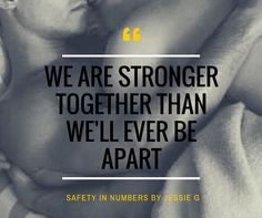 We are stronger together than we'll ever be apart. (Poster created by KathyMac)