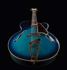 DAngelico EXL-1 BB - Thomann www.thomann.de #guitar #guitarist #jazz #blue #beautiful #ocean