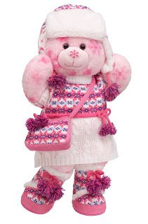 This outfit would look good on last years cookie bear.