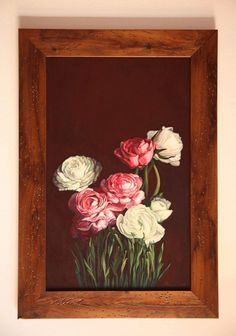 Painting Peonies by LesjaArt on Etsy