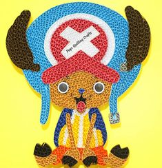 Quilling Craft, Paper Quilling, Quilling Animals, Anime Characters, Fictional Characters, Chopper, Tweety, Pokemon, Channel
