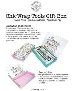 ChicWrap tools gift box.