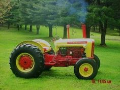 This tractor was redone by my son after I bought it. Also have ford . We have aftermarket tractor parts and manuals for 1963 Ford 4000 Industrial Tractor tractors. Antique Tractors, Vintage Tractors, Old Tractors, Train Truck, Classic Tractor, Tractor Parts, Old Farm, Model Trains, Work Horses