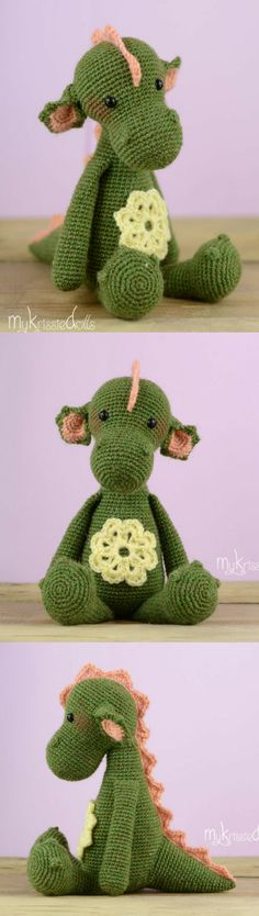 Julia the Dragon Amigurumi Crochet Pattern Printable PDF #ad #amigurumi #amigurumidoll #amigurumipattern #amigurumitoy #amigurumiaddict #crochet #crocheting #crochetpattern #pattern #patternsforcrochet #printable #instantdownload #pdf #dragon