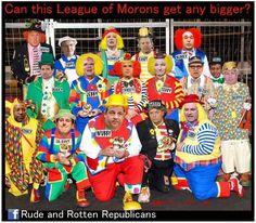 one big clown car