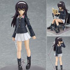 Figma 247 Mako Reizei Girls Und Panzer Anime Action Figure Max Factory Japan