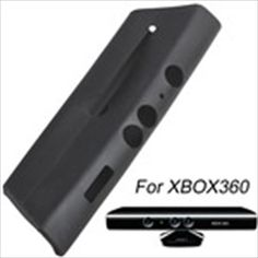 Soft Silicone Case Protector for Microsoft Xbox 360 Kinect Sensor - Black