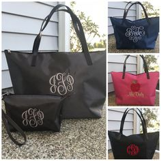 aba9e61f05 40 Best Monogram Tote Bags images in 2019