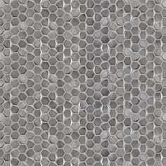 PORCELANOSA Grupo - Mosaics And Decorations - Gravity Aluminium Hexagon Metal 31x31