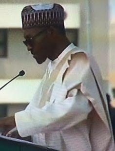 Inspired New Living: President Buhari's Inaugural speech