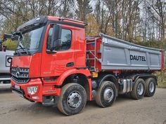 Dump Trucks, New Trucks, Mercedes Benz Trucks, Mercedez Benz, Motorhome, Transportation, History, Vehicles, Trucks