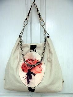 Canvas bag.....classy but trendy