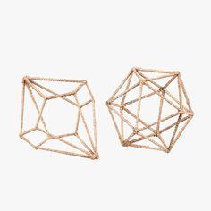 Decorative Jute Vineyard Geometric Decor from Dear Keaton