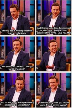 This is why I love Jason Segel…