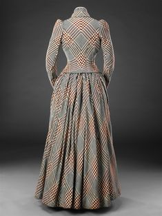 Fripperies and Fobs — Day dress ca. 1890 From the John Bright Historic...