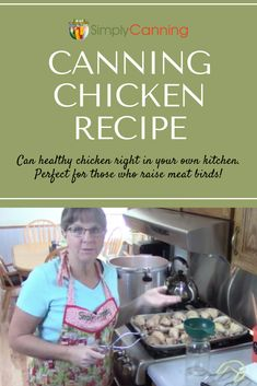 Looking for a healthy comfort food? Try canning chicken for use in soups, casseroles, and more! Find out how at Fresh Chicken, Canned Chicken, Chicken Processing, Canning Water, Can Chicken Recipes, Home Canning Recipes, Canning Food Preservation, Canning Supplies, Canned Meat