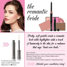 #marykay #theromanticbridelook #qtoffice #withyoueverystepoftheway www.qtoffice.com