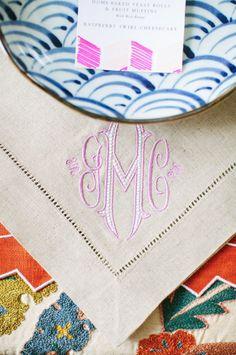 lavender monogram