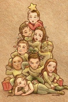 Merry Christmas from Teen Wolf!