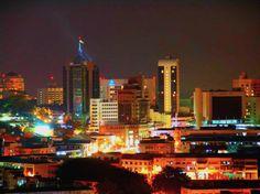 City of Kuching, Sarawak, Malaysia.  Just as beautiful as I remember it.