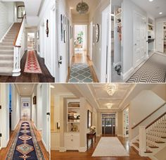 Wonderful Hallway Runner Ideas for Your Home www.amazinginteri Source by arpassounk Interior Design Photos, Scandinavian Interior Design, Narrow Entryway, Hallway Runner, Household Organization, Home Staging, Luxury Homes, Living Spaces, Real Estate