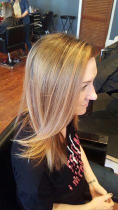 Strawberry blonde, rose gold blonde Updo, Rose Gold Blonde, Strawberry Blonde, Long Hair Styles, Beauty, Beleza, Long Hairstyle, Long Hairstyles, Hairstyle