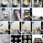 Cruffin Yummy Food, Delicious Recipes, Italian Recipes, Nutella, Cooking Recipes, Jacobean, Barrette, Theater, Muffins
