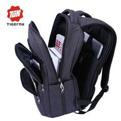 Waterproof Man Backpack Laptop Bag Black Backpack for Women School Bags