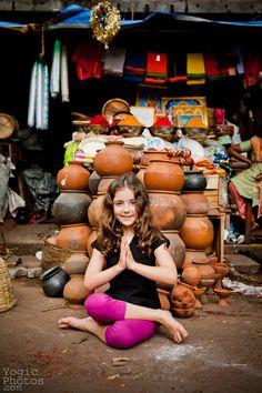Yoga in India. Mysore, India. Street Yoga. www.yogicphotos.com