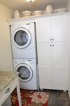 Riordan - transitional - laundry room - atlanta - Danneman Designs, LLC