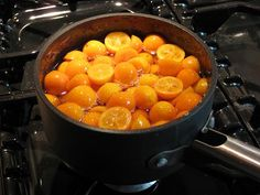 Candied Kumquats Recipe-- FINALLY something to do with ALL the kumquats