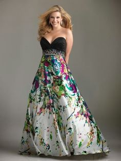 Plus Size Prom Dress plus-size-prom-dresses.not sure about the prom but i would wear this anywhere. Evening Dresses Plus Size, Plus Size Dresses, Evening Gowns, Strapless Dress Formal, Formal Dresses, Prom Gowns, Dress Prom, Formal Wear, Bridesmaid Dress
