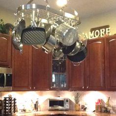 Love my pot rack.