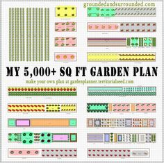 I have often wished that more gardeners shared their large vegetable garden plans online.  This blogger is sharing her zone 4 5,000 sq ft garden plan and progress in detail.  Save for future reference.