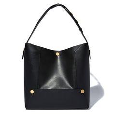Popper Small Bucket Bag