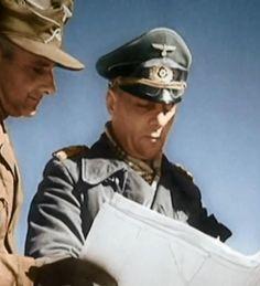"Field Marshal Erwin Rommel (also known as ""the Desert Fox"") the leader of the Afrika Korps"