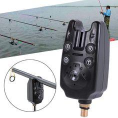 Fish Bite Alarm 2 LED Tone Volume Adjustable Sound Sensitivity Waterproof Fishing Equipment Drop Shipping