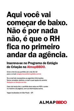 Procura-se   Clube de Criação Best Ads, Copywriter, Marketing, Journalism, Advertising, Posters, Pocket, Humor, Writing