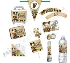 Kit Festa Mickey Safari