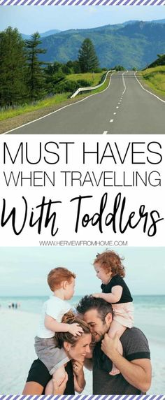 Travelling can be rough at the best of times, travelling with toddlers is a whole new ball game. Want to know how to survive it? Here are some must haves when travelling with toddlers.
