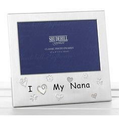 We Love Our Grandad photo frame with decorative stars and spirals. Photo Size: x Frame Size: x x All frames arrive wrapped in bubble wrap/tissue paper and in a blue gift box. Gifts For Mum, Fathers Day Gifts, I Love My Mum, Baby Elefant, Mother's Day Photos, Blue Gift, Father Christmas, Christmas Birthday, Birthday Gifts