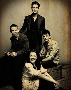 Will Poulter, Ben Barnes, Georgie Henley & Skandar Keynes - Narnia family #cslewis #narnia