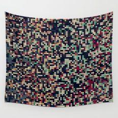 Pixelmania III Wall Tapestry