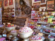 Swing by Big Top Candy Shop to surprise your sweetie with old-timey sweets. This one-of-a-kind candy shop will take you back to your childhood no matter when you were a kid.