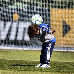 Marcelo's son Enzo. So cute!