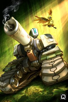 #overwatch #bastion